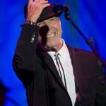 [Foto] Leonard Cohen, Piazza Santa Croce, Firenze, 1 settembre 2010