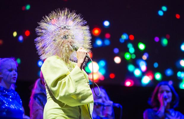Björk. Foto di Stephan Flad