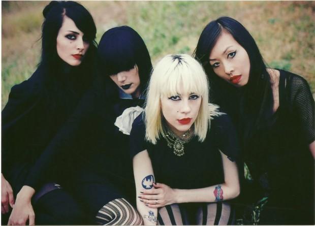 Dum Dum Girls Band Photo