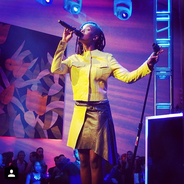 #Kelela: a #message from the #future with #Arca. #regram via @giggoers