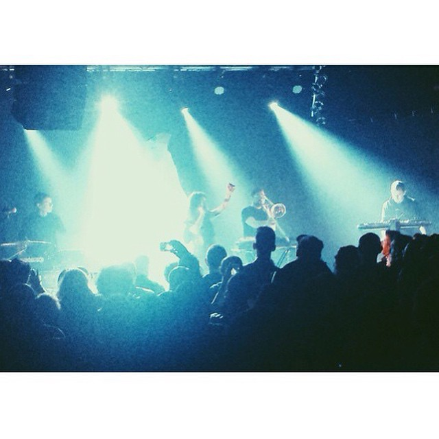 #ZolaJesus played #Bronson in #Ravenna last night! #ooft!