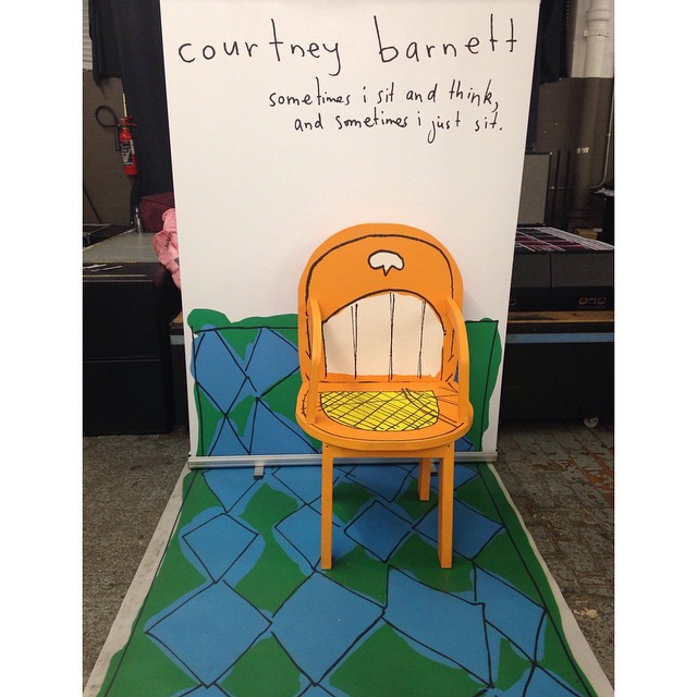 #CourtneyBarnett // #sometimes I #sit and #think and sometimes I just sit  </p> <p></p> <div class=