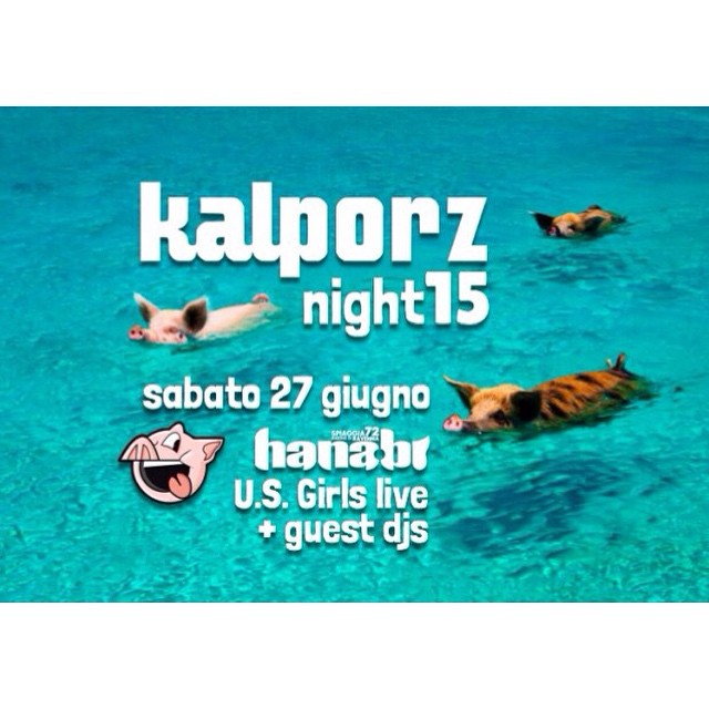 Just a wee #reminder of our #kalporznight15 at #hanabi on the 27th of June! Come #play with us on the beach! 🏼