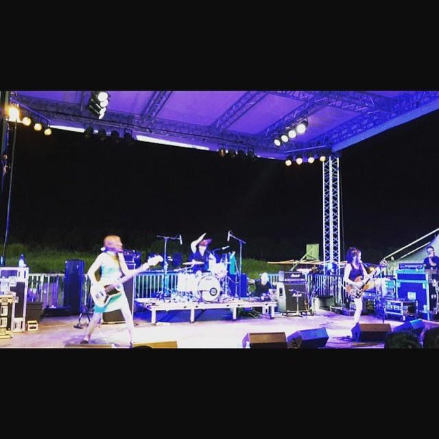 #babesintoyland last night at #beachesbrew15! #outstanding! 🏼