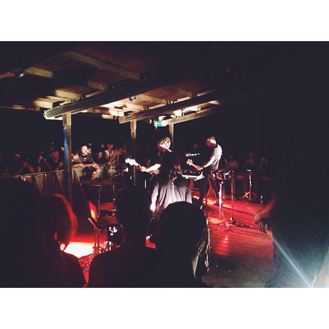 #thesoftmoon live at #hanabi last night! #ooft! 🏼