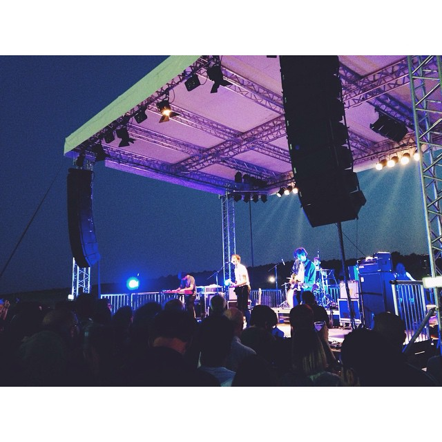 #ought playing the #beachstage!
