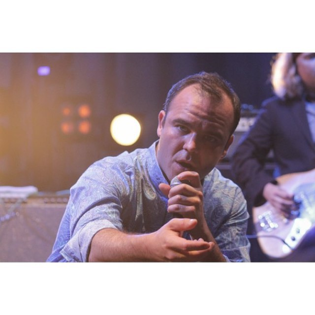 #futureislands played at #ypsigrock last week and they were #intense