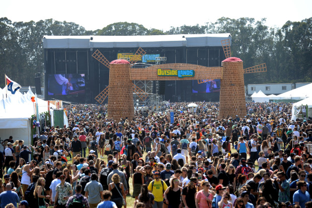 SAN FRANCISCO, CA - AUGUST 07:  Festival goers are seen during day 1 of the 2015 Outside Lands Music And Arts Festival at Golden Gate Park on August 7, 2015 in San Francisco, California.  (Photo by Jeff Kravitz/FilmMagic)
