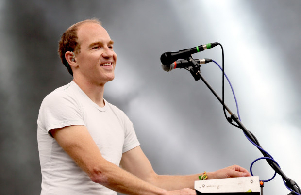 SAN FRANCISCO, CA - AUGUST 09:  Musician Dan Snaith of Caribou performs at the Twin Peaks Stage during day 3 of the 2015 Outside Lands Music And Arts Festival at Golden Gate Park on August 9, 2015 in San Francisco, California.  (Photo by FilmMagic/FilmMagic)