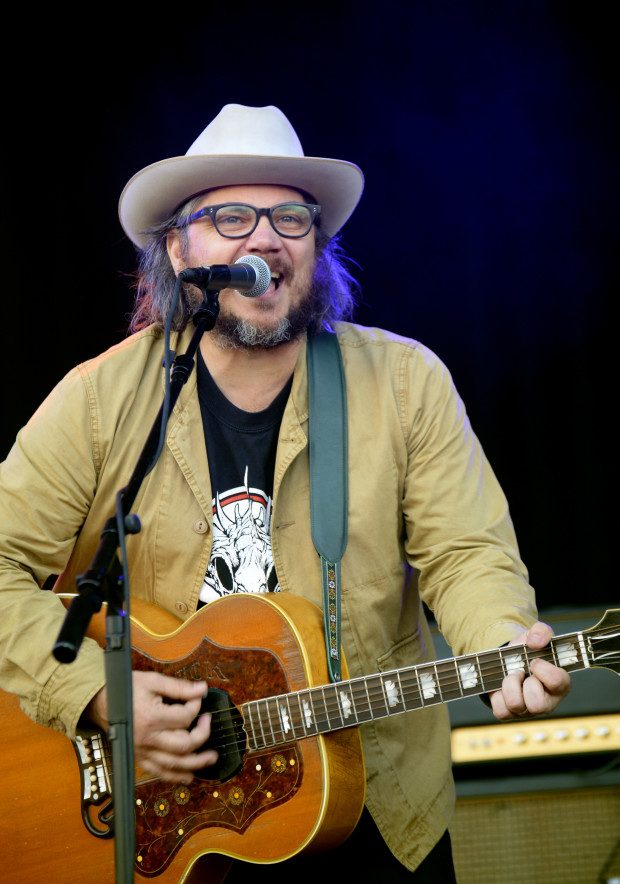 SAN FRANCISCO, CA - AUGUST 07:  Musician Jeff Tweedy of Wilco performs at the Lands End Stage during day 1 of the 2015 Outside Lands Music And Arts Festival at Golden Gate Park on August 7, 2015 in San Francisco, California.  (Photo by Jeff Kravitz/FilmMagic)