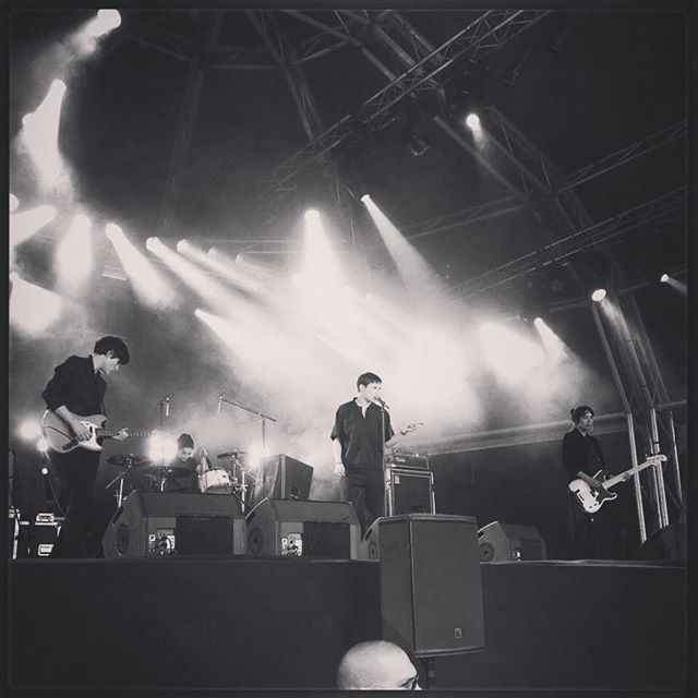 #tbt #savages live at #primaverasound back in #2013 🏼