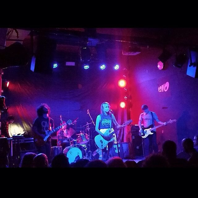 #SpeedyOrtiz live at #CovoClub in #Bologna last weekend!