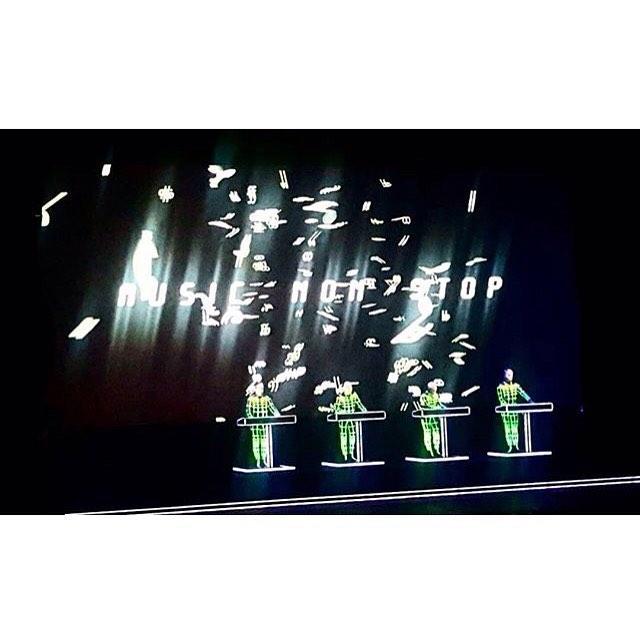 #Kraftwerk in #Florence on #Monday night! 🏼