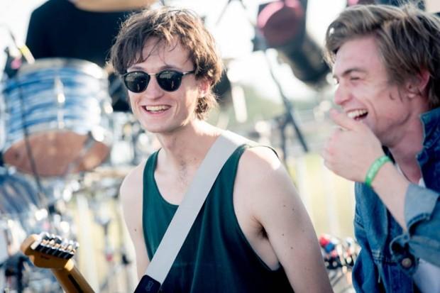 Gli Ought al Beaches Brew festival 2015 (foto di Francesca Sara Cauli)