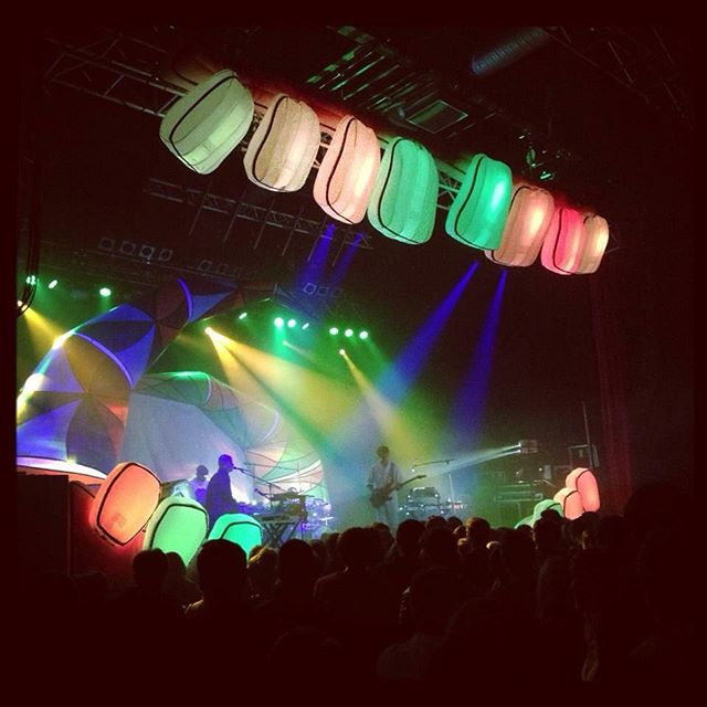 #tbt #AnimalCollective playing #Glasgow back in #2012! 🏼