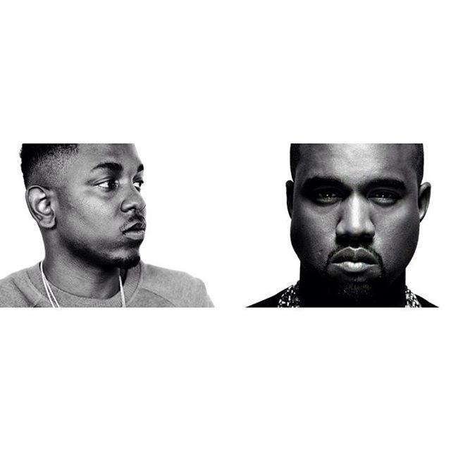 #KanyeWest + #KendrickLamar = #NoMorePartiesInLA 🏼