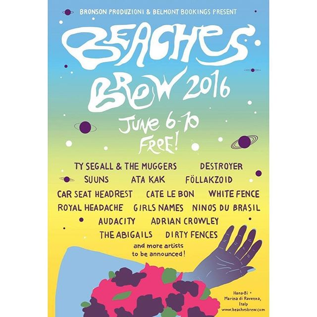 Seen #beachesbrew line up yet? Well, see you on the beach! 🏼