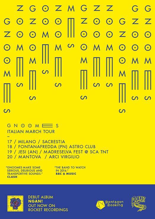 gnoomes italian tour