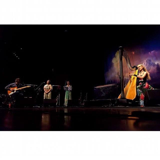 #tbt #joannanewsom playing the #glasgowroyalconcerthall last week! #astonishing 