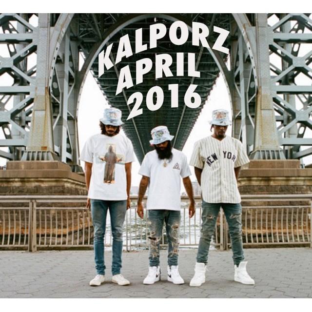 #Kalporz #Playlist #April #2016 🏼