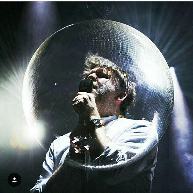 LCD SOUNDSYSTEM is back and he heated @primavera_sound stage last night! pic by @arielmartini