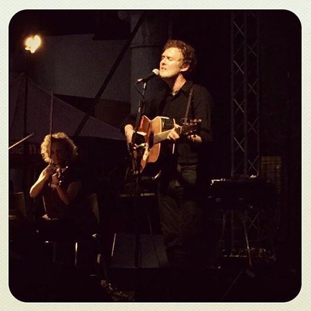 Glen Hansard played in Ferrara yesterday 🌒pic by @franpesca19