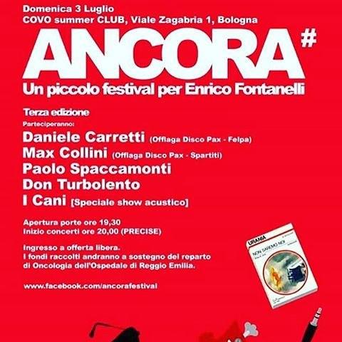 Un piccolo festival per Enrico Fontanelli.