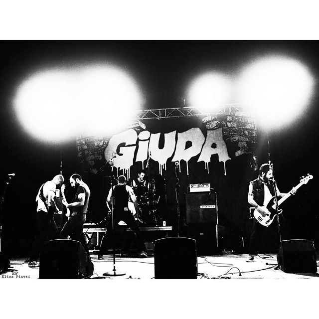 GIUDA played at Arena Pasolini, Bologna pic by @days.were.golden
