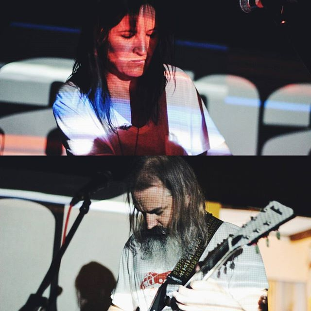 Moon Duo played at Hana-Bi yesterday pics by @chiaraviolenta