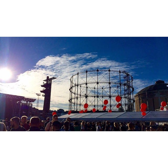 We were at FLOW FESTIVAL HELSINKI too this year pic by @lussekatt_
