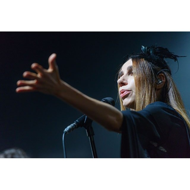 PJ Harvey through Gabriele Spadini eyes in Firenze
