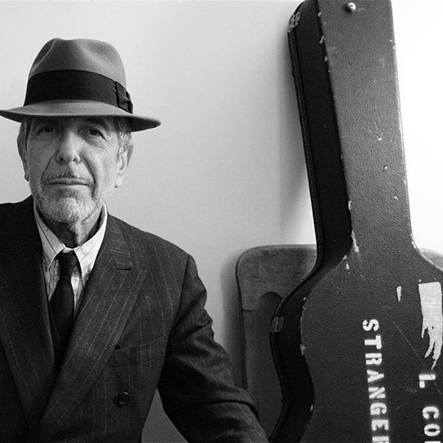 "So long Leonard. ""A singer must die for the lie in his voice"" // Leonard Cohen, 1934 - 2016"
