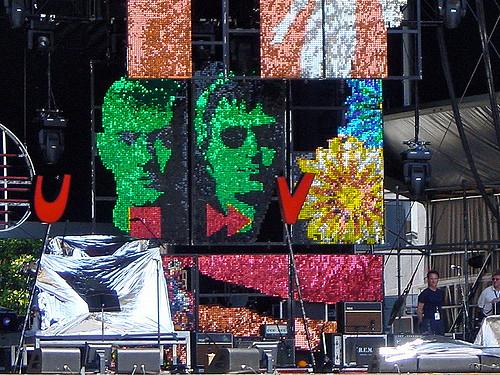 R.E.M. - Piazza Grande Locarno - 7. Juli 2003
