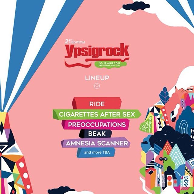 #Ypsigrock !! first names announced !!