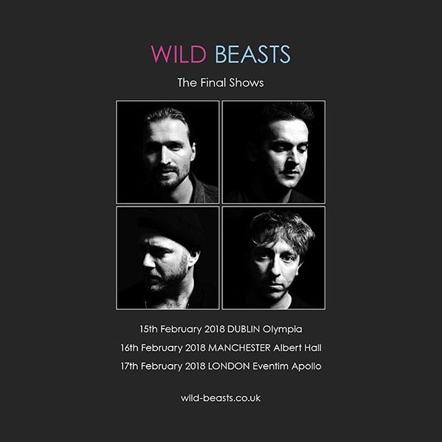 Wild Beasts' final shows...