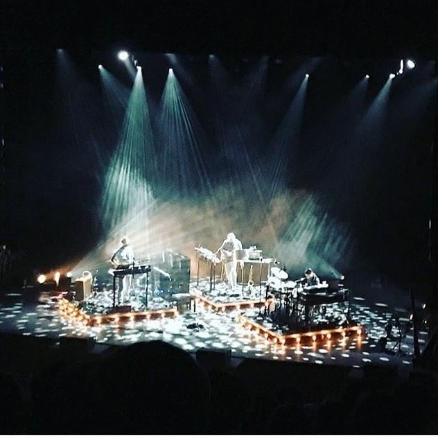 Stunning #BonIver live last night!