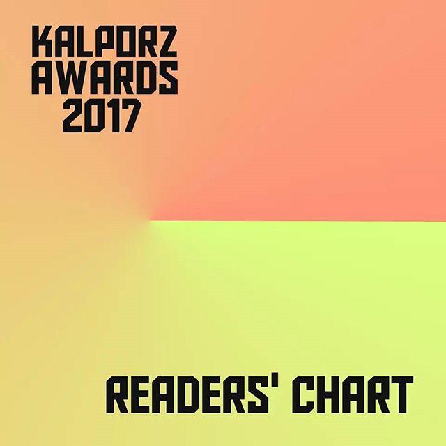 #KalporzAwards2017 Readers' chart