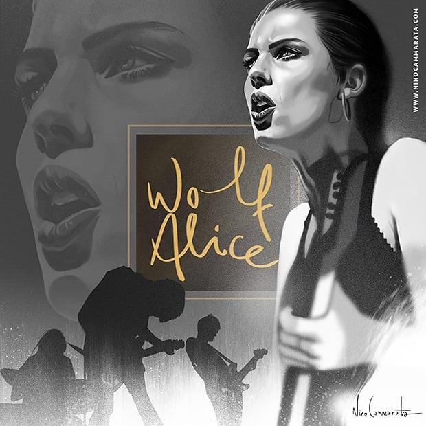 #WolfAlice, Live it!, January 2018