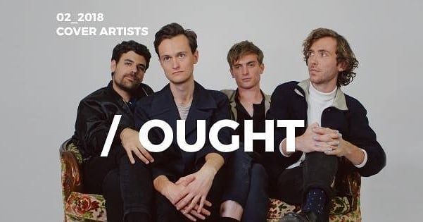 #Ought Cover Artist February 2018