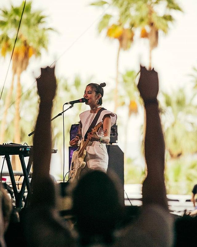 #japanesebreakfast playing yesterday at #coachella