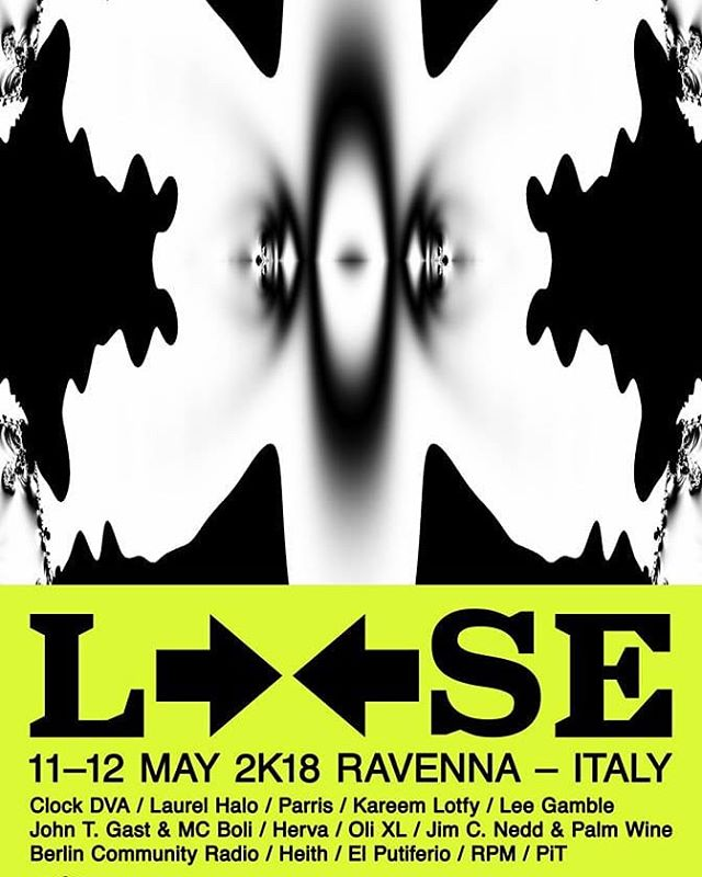 LOOSE 2018, 11-13 may, Ravenna, #laurelhalo and more