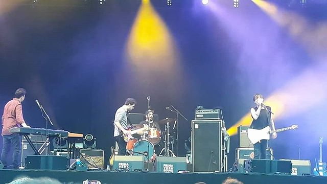 #wolfparade at primavera sound opening