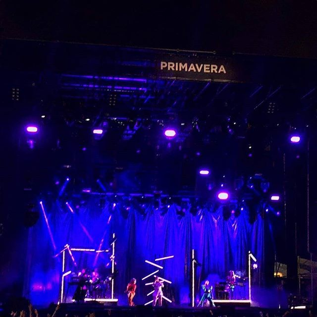 #feverray yesterday at #primavera