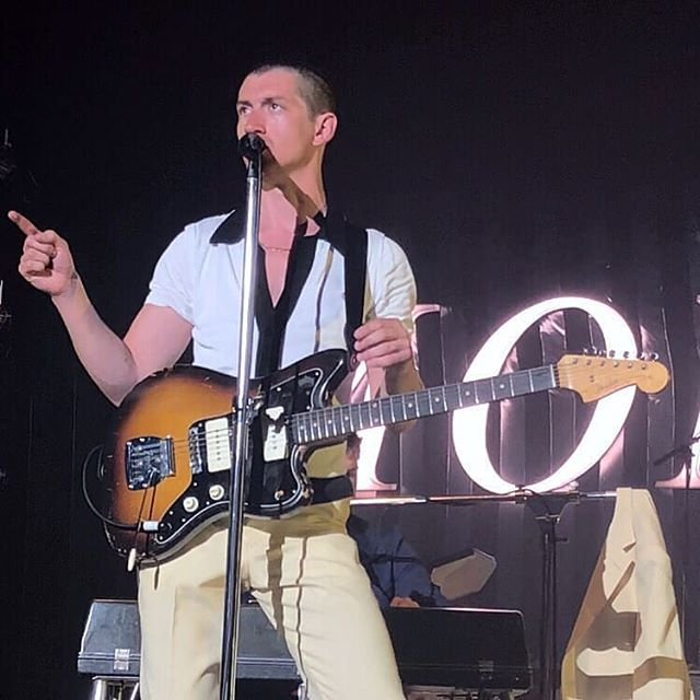 Alex Turner has shaved his hair off.