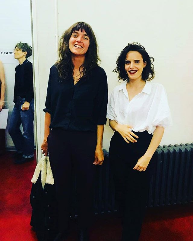 #courtneybarnett and #annacalvi yesterday in berlin
