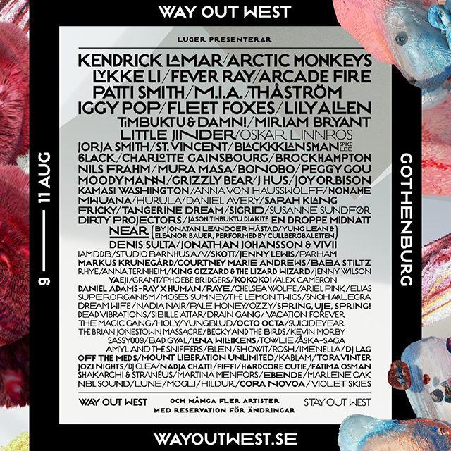 Ready for @wayoutwestfestival?