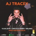 The #grime rising star @ajtracey is hitting Milan next April and we gonna join his exclusive show at @circoloohibo as media partner with @radar_concerti. #ajtracey #milano #newmusic
