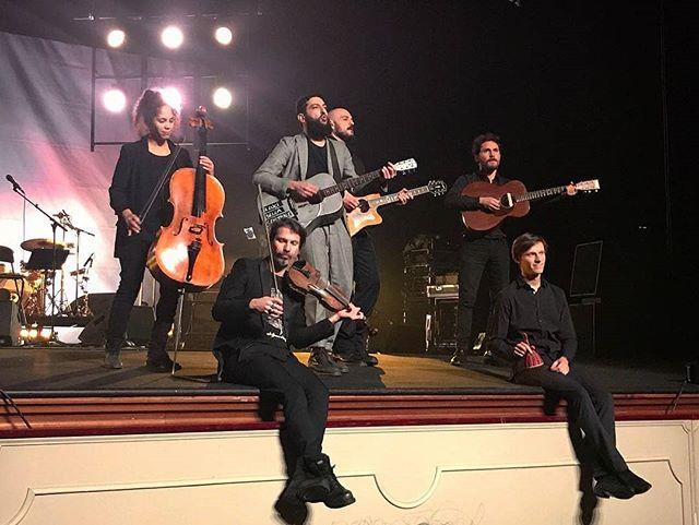 @lelucidellacentraleelettricaa yesterday in reggio emilia at valli theatre