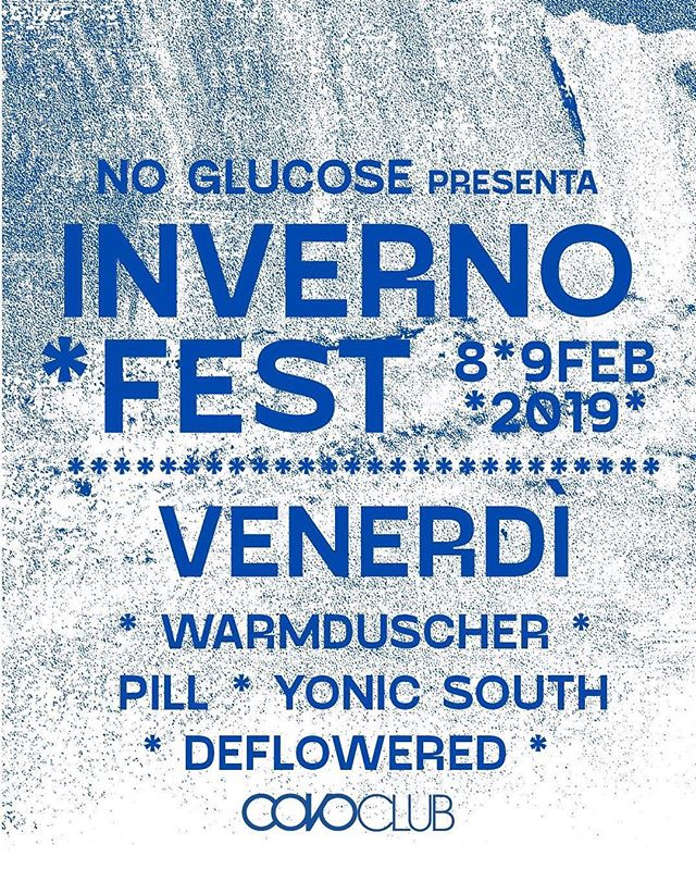 Ready to start rocking your inverno? #invernofest 2019 starting now at @covoclub in Bologna