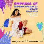 Empress Of a Milano per #MusicIsMyRadar